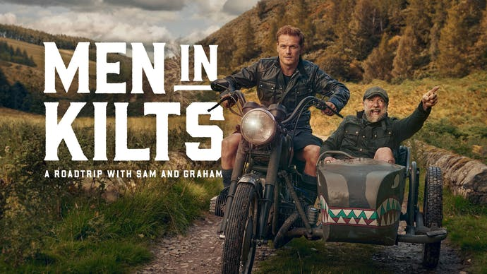 Watch Men in Kilts: A Roadtrip with Sam and Graham Online: Stream Full  Series on STARZ - Free Trial